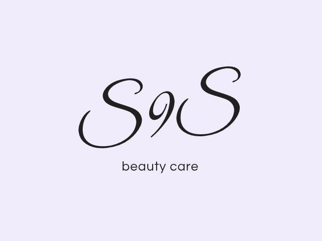 beauty care logo salone di bellezza viola rosa style stile acconciature donna cool