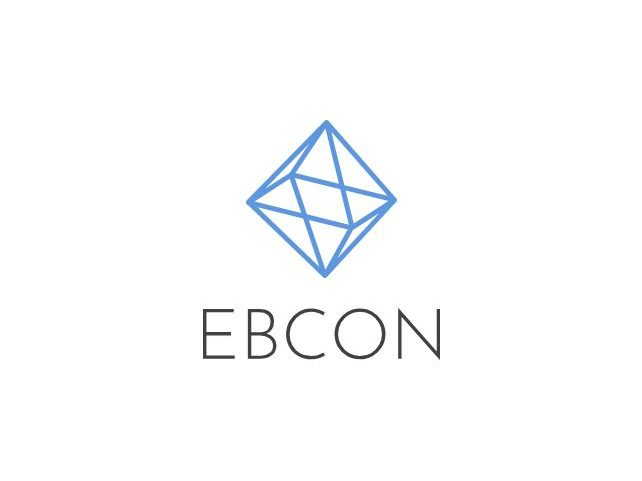 EBCON computer logo information technologies networking security domain admin solution service business