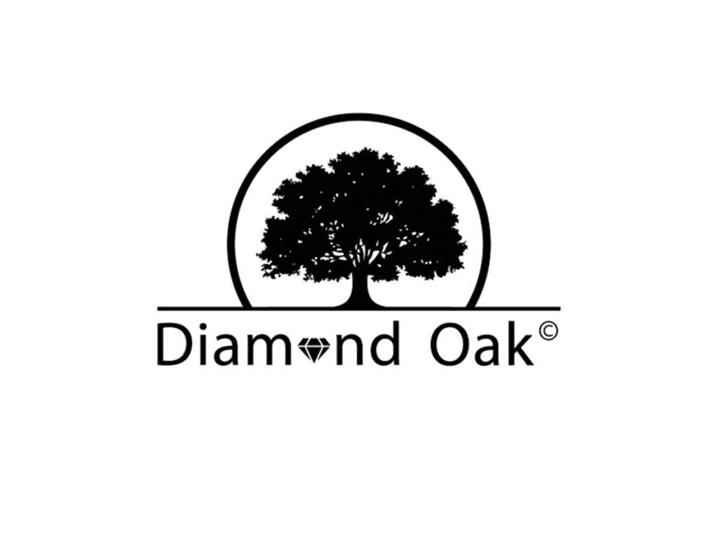 diamond oak logo graphic design