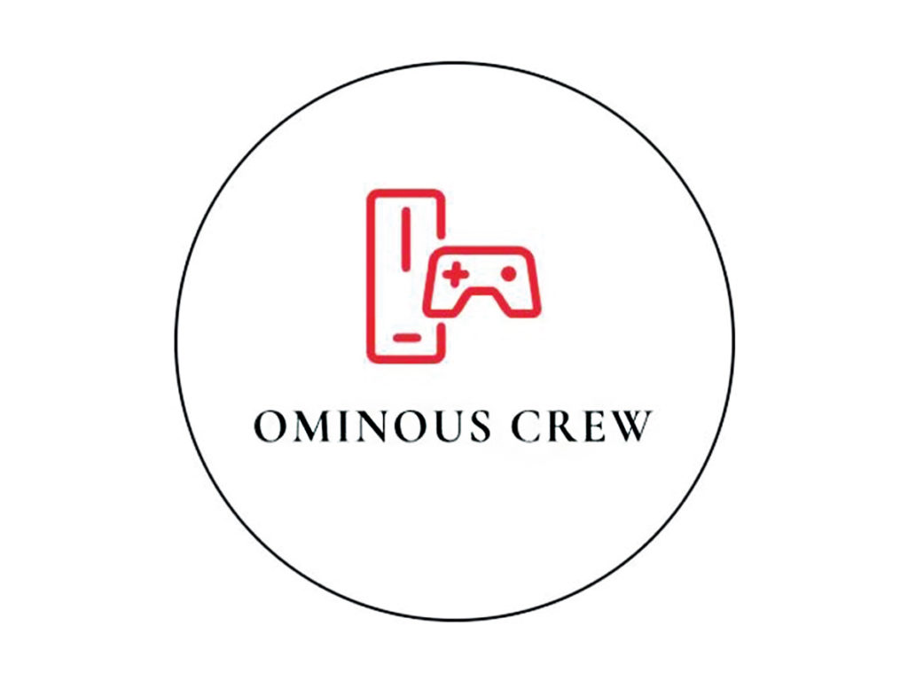 ominous crew logo game development video games videogames console computer giochi videogiochi